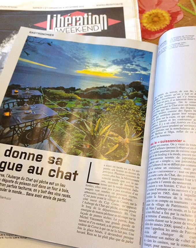 """Photographe-Corse dans """"Libération"""" !"""